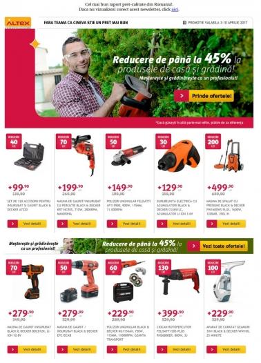 Catalog ALTEX 03 Aprilie 2017 – 09 Aprilie 2017