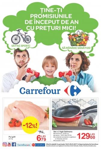 Catalog CARREFOUR – Oferte Alimentare & Nealimentare! 19 Ianuarie 2017 – 25 Ianuarie 2017