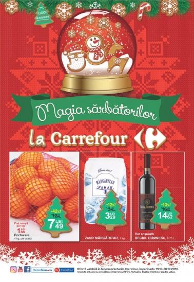 Catalog CARREFOUR – Magia Sarbatorilor! 19 Decembrie 2016 – 26 Decembrie 2016