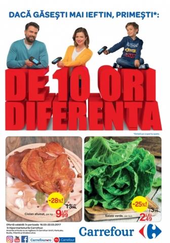 Catalog CARREFOUR – Alimentar! 16 Martie 2017 – 22 Martie 2017