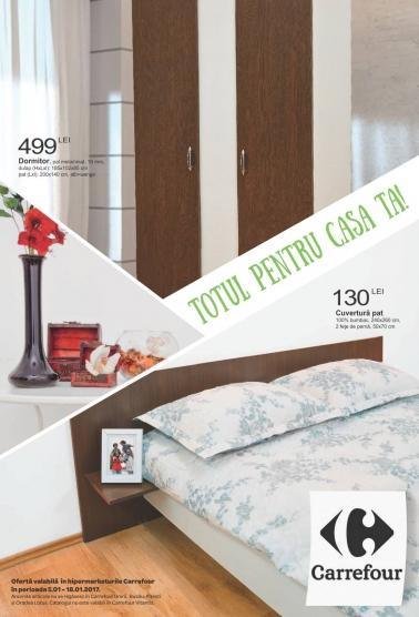 Catalog CARREFOUR – Oferte Pentru Casa! 05 Ianuarie 2017 – 18 Ianuarie 2017