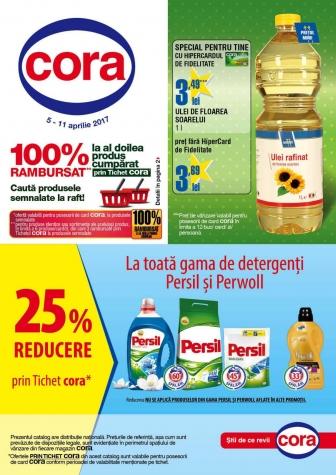 Catalog CORA 05 Aprilie 2017 – 11 Aprilie 2017