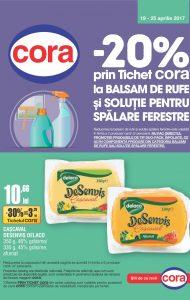 Catalog CORA 19 Aprilie 2017 – 25 Aprilie 2017