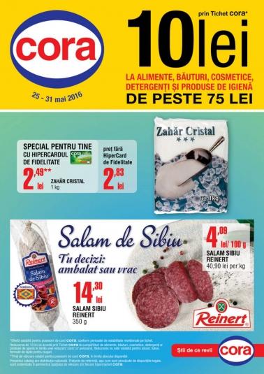 Catalog CORA  valabilitate: 25 Mai 2016 – 31 Mai 2016