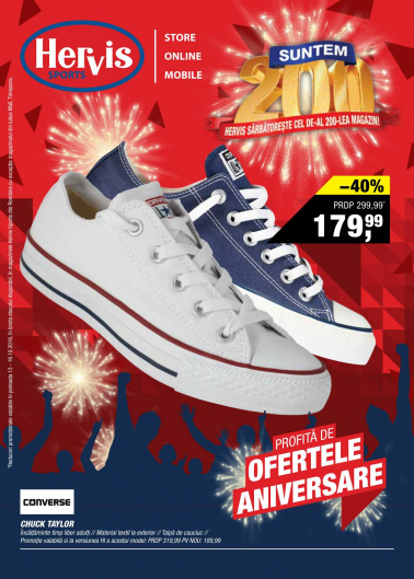 Catalog HERVIS SPORT – 13 Octombrie 2016 – 16 Octombrie 2016