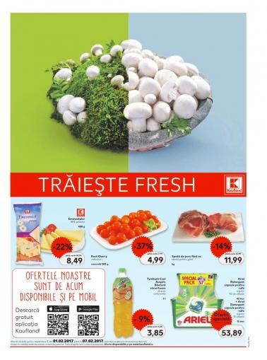 Catalog KAUFLAND Magazin Barbu Vacarescu Bucuresti, valabilitate: 01 Februarie 2017 – 07 Februarie 2017