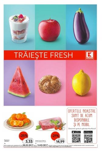 Catalog KAUFLAND Magazin Barbu Vacarescu Bucuresti, valabilitate: 08 Februarie 2017 – 14 Februarie 2017