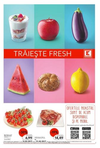 Catalog KAUFLAND Magazin Barbu Vacarescu Bucuresti, valabilitate: 15 Martie 2017 – 21 Martie 2017