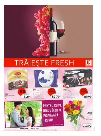 Catalog KAUFLAND Magazin Barbu Vacarescu Bucuresti, valabilitate: 01 Martie 2017 – 07 Martie 2017
