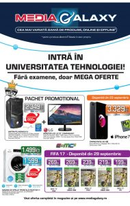 Catalog MEDIA GALAXY – Intra in universitatea tehnologiei! 21 Septembrie 2016 – 12 Octombrie 2016