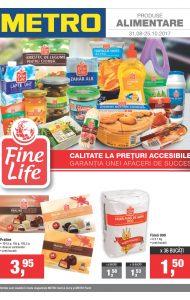 Catalog METRO – Oferte alimentare! valabilitate: 31 August 2017 – 25 Septembrie 2017