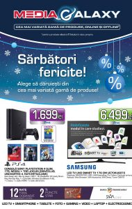 Catalog MEDIA GALAXY 01 Decembrie 2016 – 25 Decembrie 2016