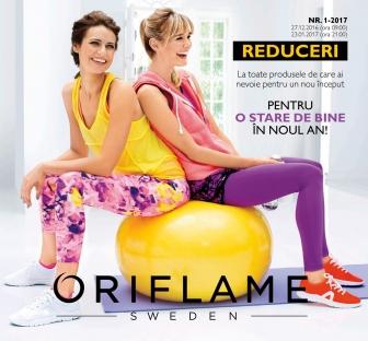 Catalog ORIFLAME C1 2017, valabilitate: 29 Decembrie 2016 pana la 23 Ianuarie 2017
