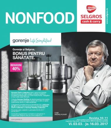 Catalog SELGROS Nealimentar 03 Martie 2017 – 16 Martie 2017