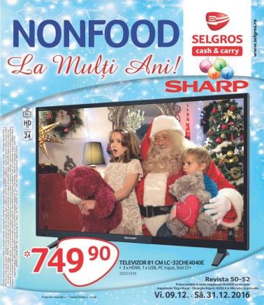 Catalog SELGROS Nealimentar 09 Decembrie 2016 – 31 Decembrie 2016
