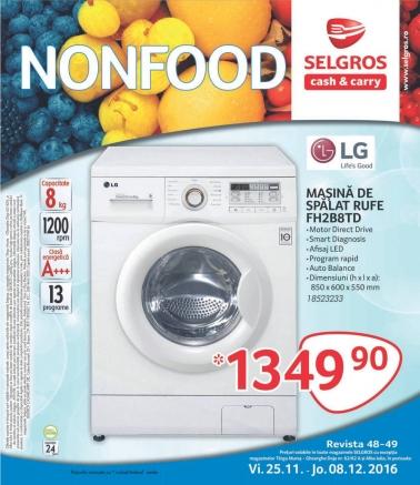 Catalog SELGROS Nealimentar 25 Noiembrie 2016 – 08 Decembrie 2016